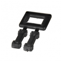 12mm Black Plastic Strapping Buckles (1000 per box)