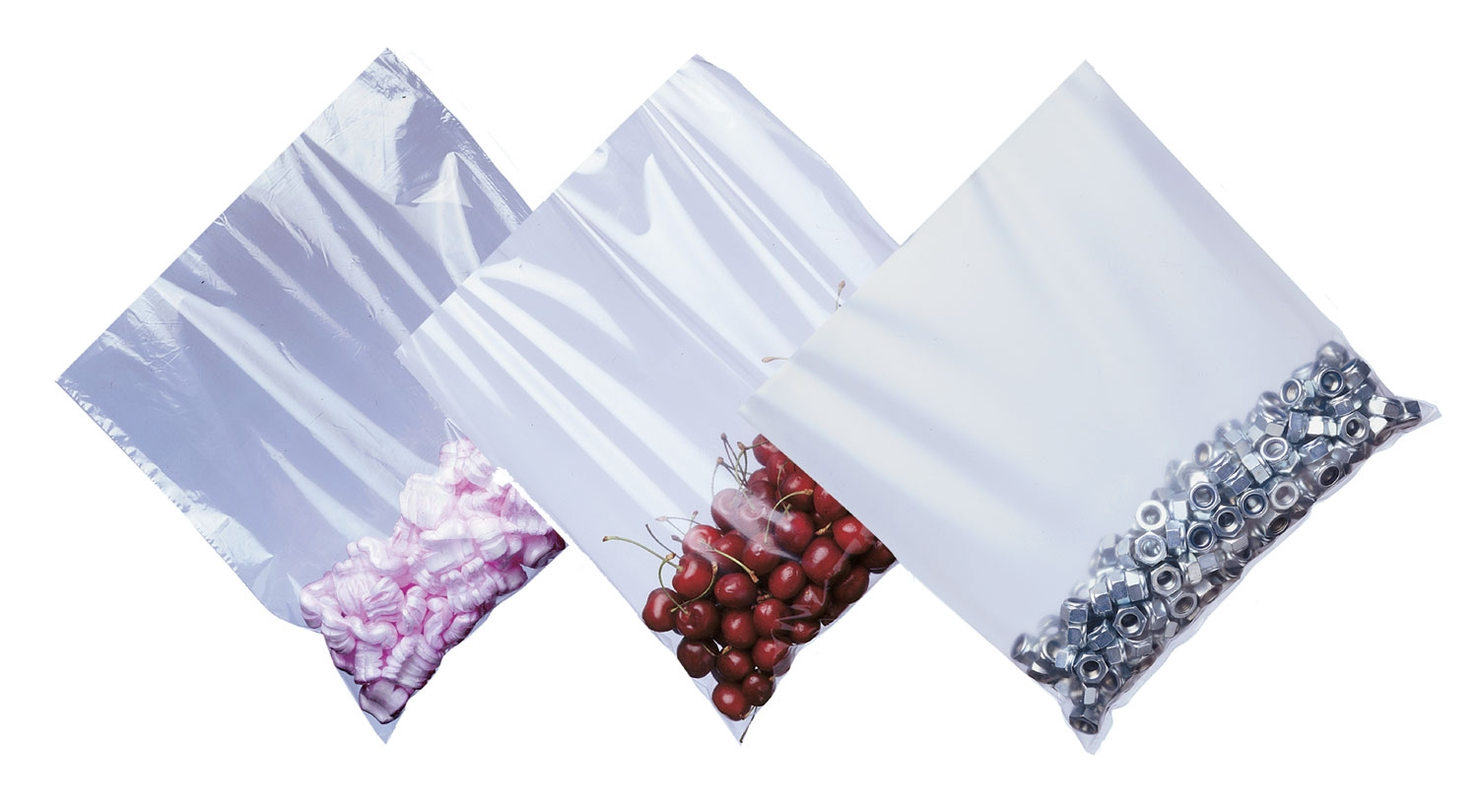 15inch X 20inch Lightweight Clear Easy Opening Poly Bags