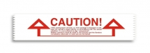 50mm X 66M 'CAUTION IF THIS SEAL IS BROKEN' Printed Tape