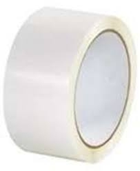 50mm X 66M White Polypropylene Tape - 36 rolls per box