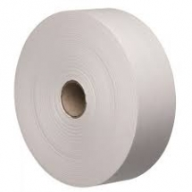 70mm X 200M White Gummed Paper Tape 90GSM Wound GSO (Gum Side Out)