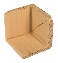 80mm X 80mm X 80mm Corrugated Corner Protectors x 15mm Thick