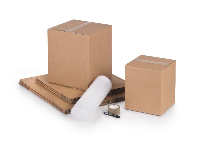 8inch X 6inch X 4inch Single Wall Cartons