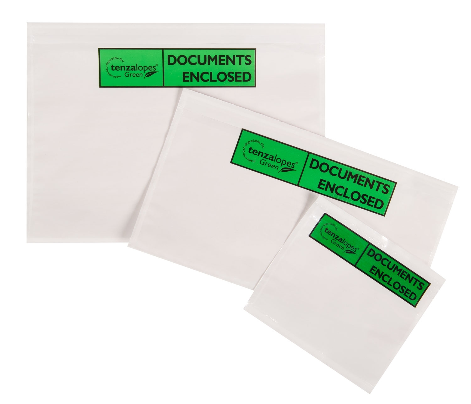 Biodegradable Printed Document Enclosed Envelopes