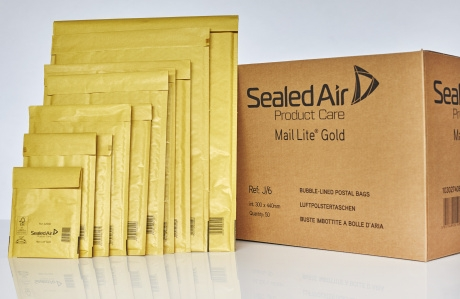 Gold Mail Lite Bags