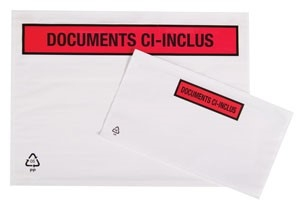A4 Document Envelopes Printed In French - 500 Per Box