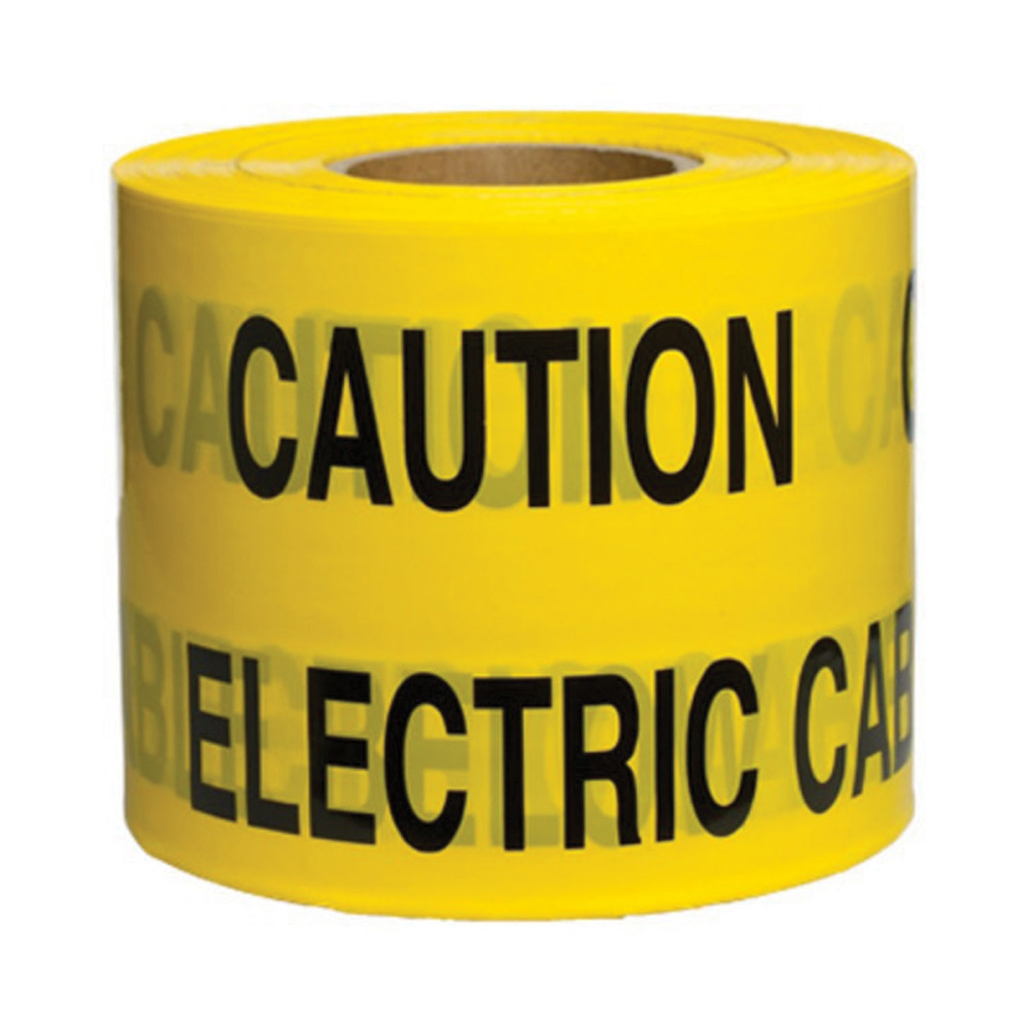 150mm x 365M Underground Tape Caution Electric Cable