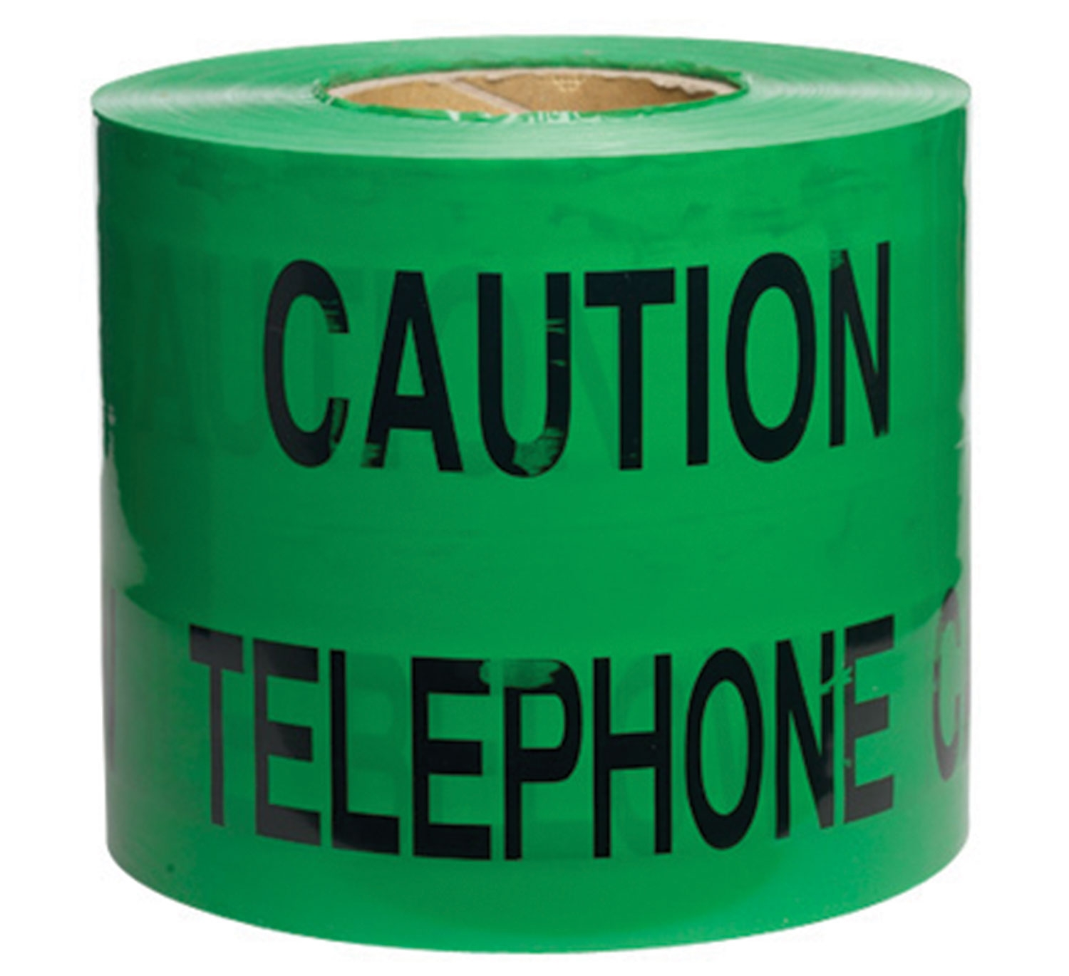 150mm x 365M Underground Tape Caution Telephone Cable