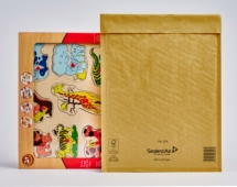 Gold Mail Lite Bubble Lined Postal Bags REF. J/6 - 50 bags per box