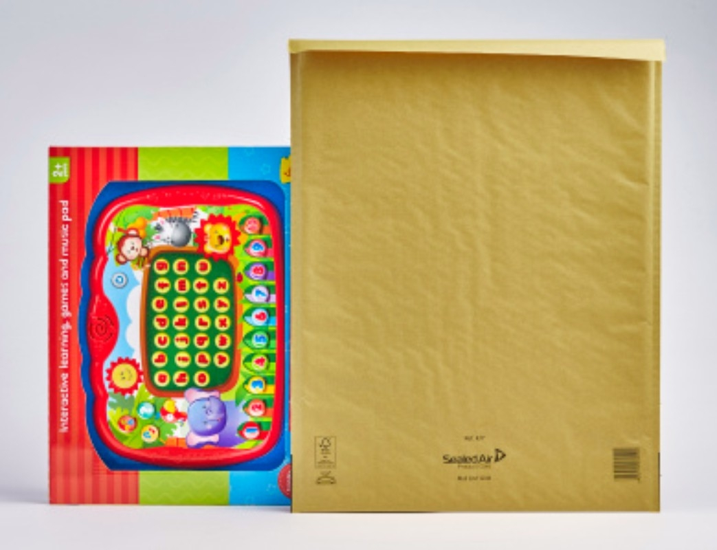 Gold Mail Lite Bubble Lined Postal Bags REF. K/7 - 50 bags per box