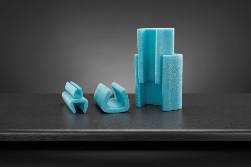 15/25mm Noma Foam Blue U Profiles 2M lengths - 280 Metres per box