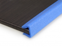 70/90mm Noma Foam Blue U Profiles 2M lengths - 72 Metres per box
