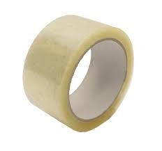 50mm X 66M Clear Polyprop Parcel Tape - Acrylic Adhesive - 36 rolls per box