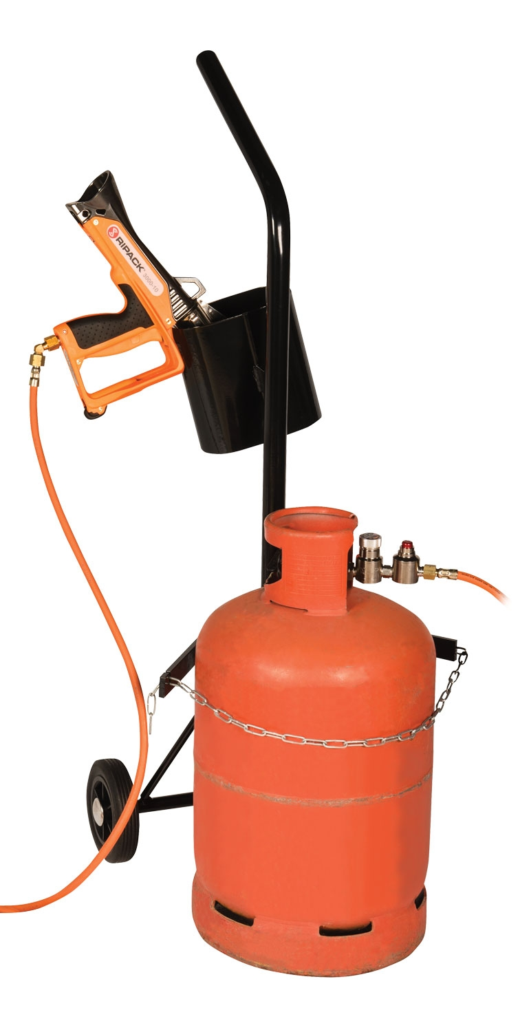 Gas Cylinder Trolley PCT Holds Propane Cylinder