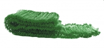 225MM Green PVC Coated Sack Ties - 1,000 Per Back
