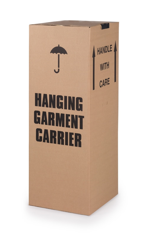 Wardrobe Cartons 508 X 457 X 1220mm With hanging rail