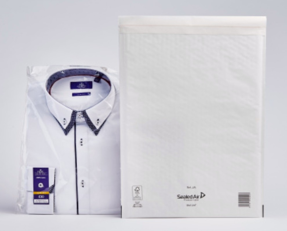 White Mail Lite Bubble Lined Postal Bags REF. J/6 - 50 bags per box