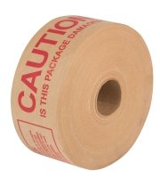 Pre-Printed Gummed Paper Tape GSI (Wound Gum Side In)